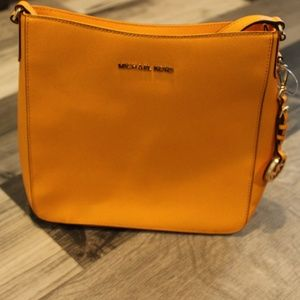 Mustard Michael Kors Shoulder Bag
